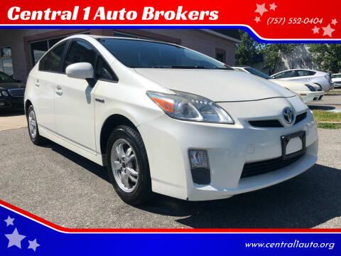 2010 Toyota Prius for sale at Central 1 Auto Brokers in Virginia Beach VA
