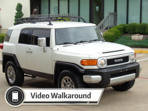 2012 Toyota FJ Cruiser for sale at Auto Starlight in Dallas TX