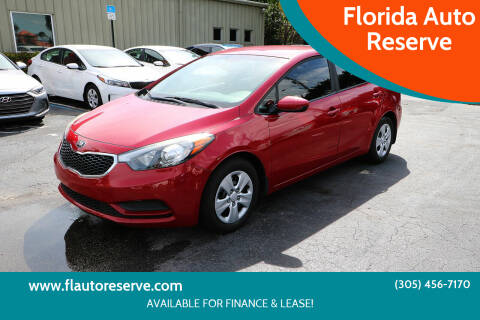 2016 Kia Forte for sale at Florida Auto Reserve in Medley FL