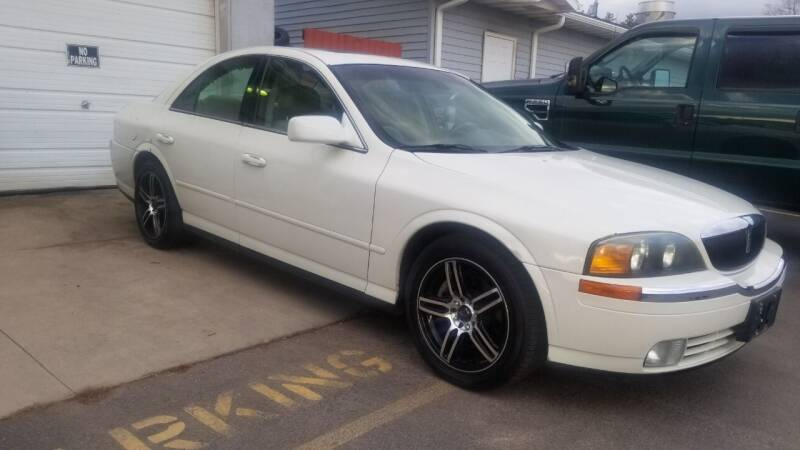 2002 Lincoln LS for sale at D AND D AUTO SALES AND REPAIR in Marion WI