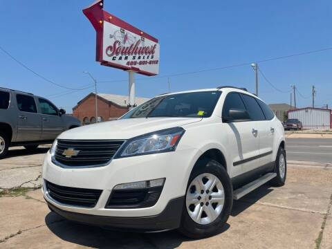 2014 Chevrolet Traverse for sale at Southwest Car Sales in Oklahoma City OK