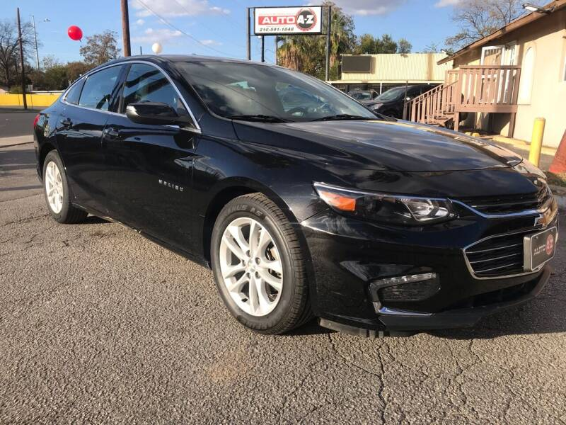 2018 Chevrolet Malibu for sale at Auto A to Z / General McMullen in San Antonio TX