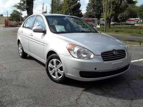 2010 Hyundai Accent for sale at CORTEZ AUTO SALES INC in Marietta GA