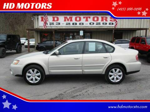 2007 Subaru Outback for sale at HD MOTORS in Kingsport TN