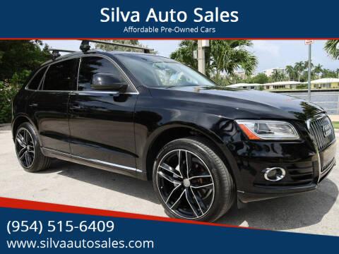 2014 Audi Q5 for sale at Silva Auto Sales in Pompano Beach FL