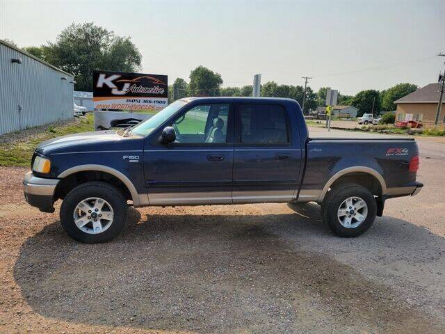 2002 Ford F-150 for sale at KJ Automotive in Worthing SD