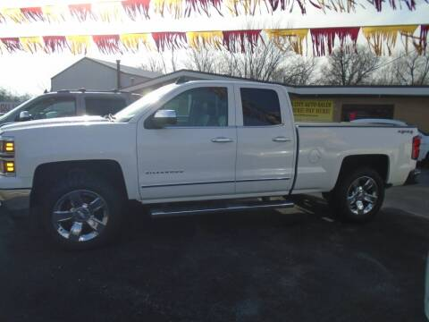 2015 Chevrolet Silverado 1500 for sale at River City Auto Sales in Cottage Hills IL