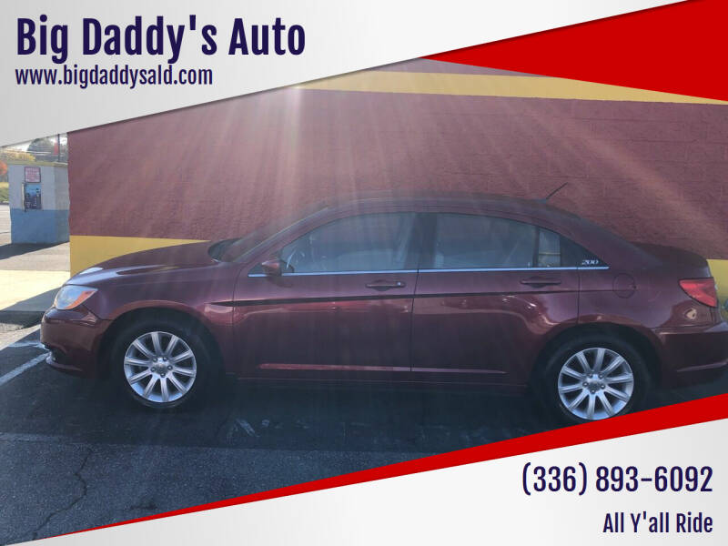 2011 Chrysler 200 for sale at Big Daddy's Auto in Winston-Salem NC