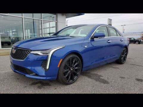2021 Cadillac CT4 for sale at Herman Jenkins Used Cars in Union City TN