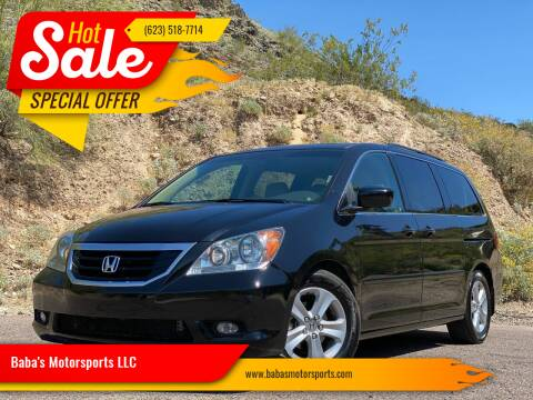 2009 Honda Odyssey for sale at Baba's Motorsports, LLC in Phoenix AZ