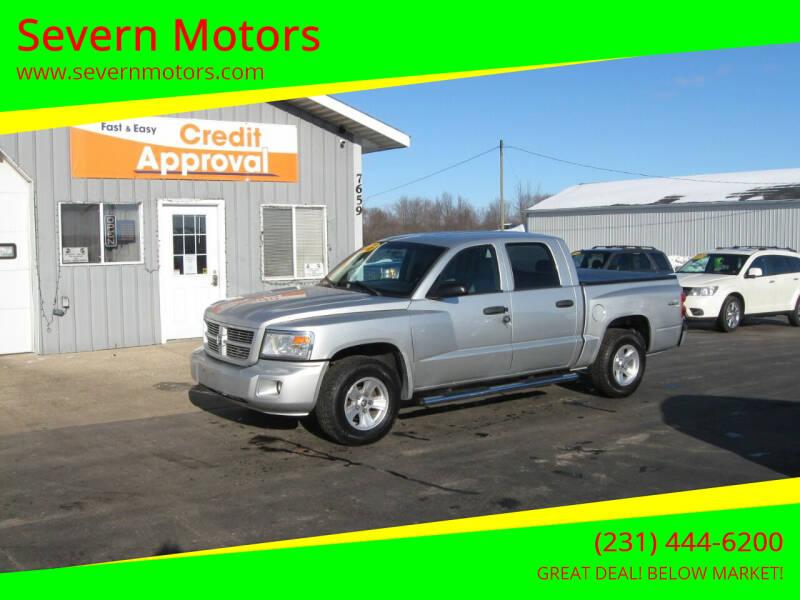 2010 Dodge Dakota for sale at Severn Motors in Cadillac MI
