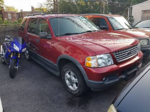 2003 Ford Explorer for sale at Rockland Auto Sales in Philadelphia PA