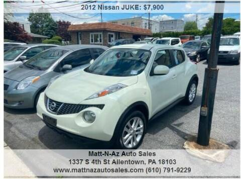2012 Nissan JUKE for sale at Berk Motor Co in Whitehall PA