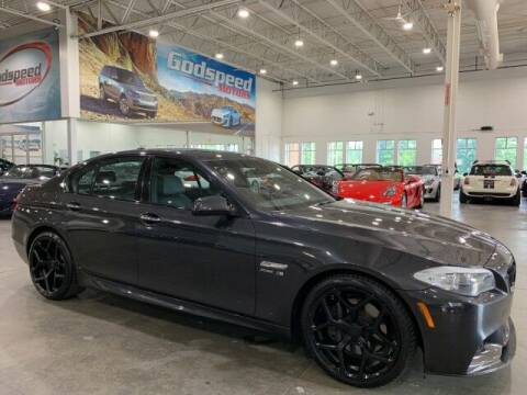 2012 BMW 5 Series for sale at Godspeed Motors in Charlotte NC