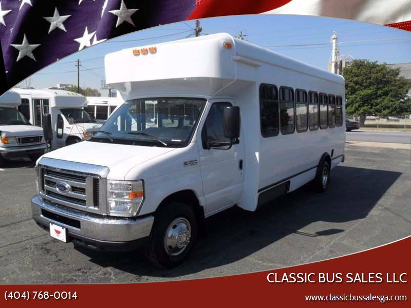 2018 Ford E-450 for sale at Classic Bus Sales LLC in Lake City GA