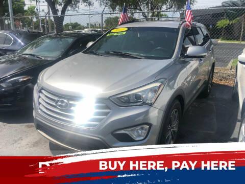 2013 Hyundai Santa Fe for sale at Nationwide Auto Finance in Miami FL