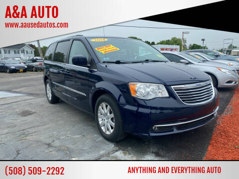 2014 Chrysler Town and Country for sale at A&A AUTO in Fairhaven MA