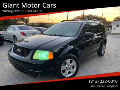 2005 Ford Freestyle for sale at Giant Motor Cars in Tampa FL