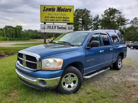 2006 Dodge Ram Pickup 1500 for sale at Lewis Motors LLC in Deridder LA