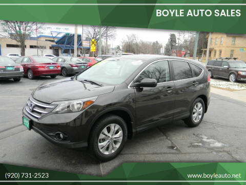 2014 Honda CR-V for sale at Boyle Auto Sales in Appleton WI