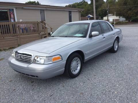 2001 Ford Crown Victoria for sale at Wholesale Auto Inc in Athens TN