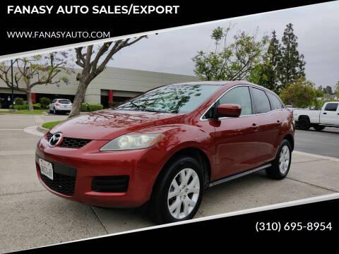 2007 Mazda CX-7 for sale at FANASY AUTO SALES/EXPORT in Yorba Linda CA