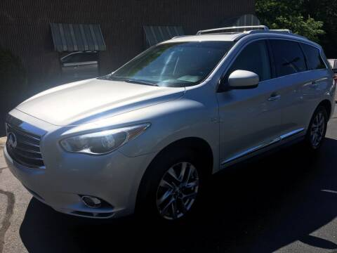 2014 Infiniti QX60 for sale at Depot Auto Sales Inc in Palmer MA