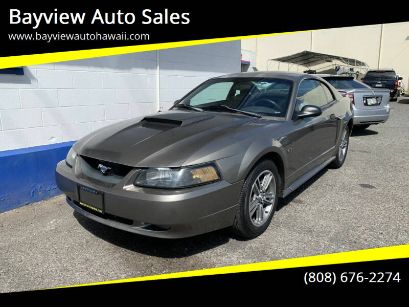 2001 Ford Mustang for sale at Bayview Auto Sales in Waipahu HI