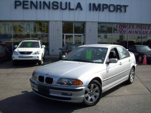 2001 BMW 3 Series for sale at Peninsula Motor Vehicle Group in Oakville Ontario NY