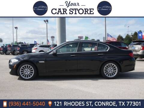 2012 BMW 5 Series for sale at Your Car Store in Conroe TX