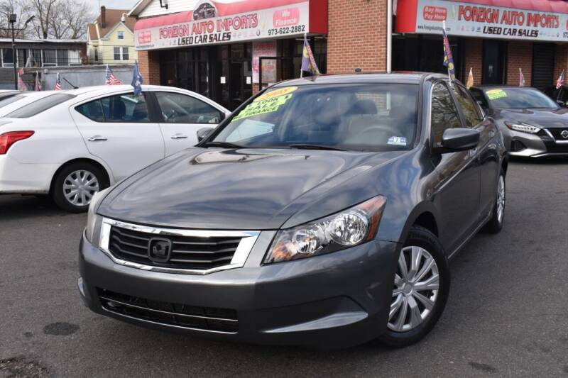 2008 Honda Accord for sale at Foreign Auto Imports in Irvington NJ