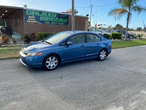 2007 Honda Civic for sale at Galaxy Motors Inc in Melbourne FL