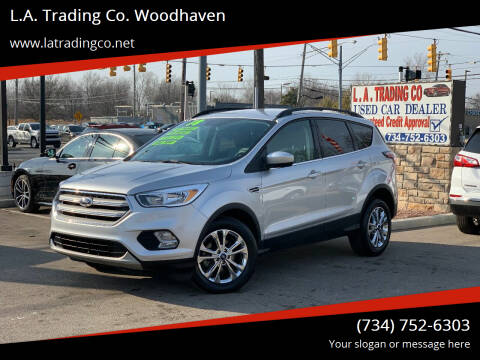 2018 Ford Escape for sale at L.A. Trading Co. Woodhaven in Woodhaven MI
