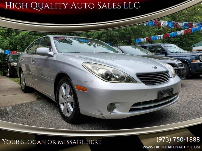 2005 Lexus ES 330 for sale at High Quality Auto Sales LLC in Bloomingdale NJ