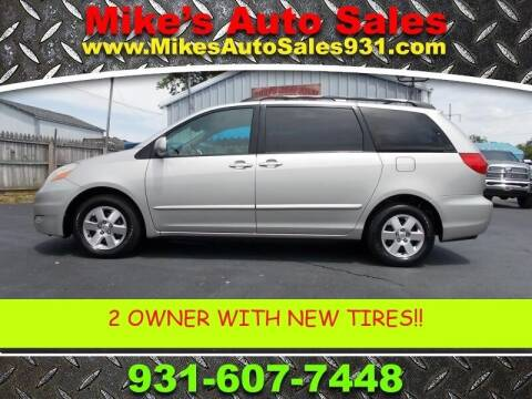 2007 Toyota Sienna for sale at Mike's Auto Sales in Shelbyville TN