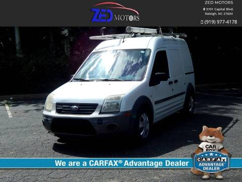 2012 Ford Transit Connect for sale at Zed Motors in Raleigh NC
