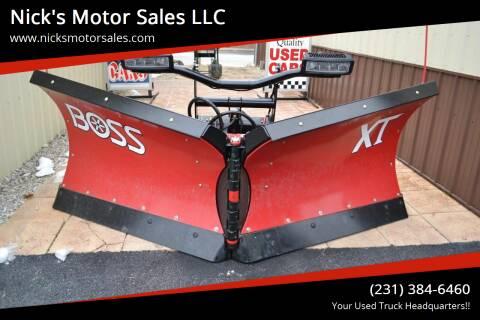 """2019 BOSS 9'2"""" XT POLY V BLADE for sale at Nick's Motor Sales LLC in Kalkaska MI"""