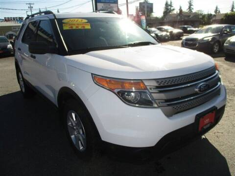 2013 Ford Explorer for sale at GMA Of Everett in Everett WA
