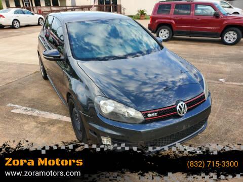 2011 Volkswagen GTI for sale at Zora Motors in Houston TX