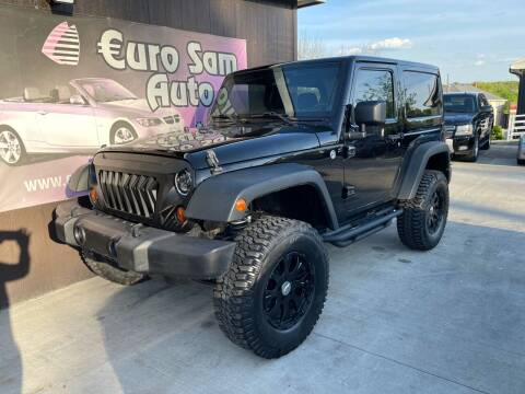 2013 Jeep Wrangler for sale at Euro Auto in Overland Park KS