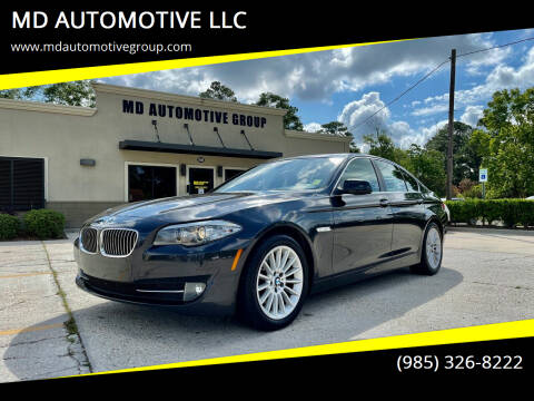 2011 BMW 5 Series for sale at MD AUTOMOTIVE LLC in Slidell LA