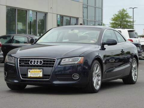 2012 Audi A5 for sale at Loudoun Used Cars - LOUDOUN MOTOR CARS in Chantilly VA