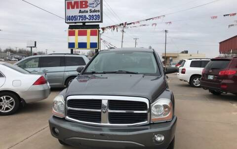 2006 Dodge Durango for sale at MB Auto Sales in Oklahoma City OK