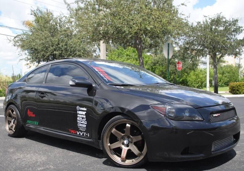 2007 Scion tC for sale at Maxicars Auto Sales in West Park FL