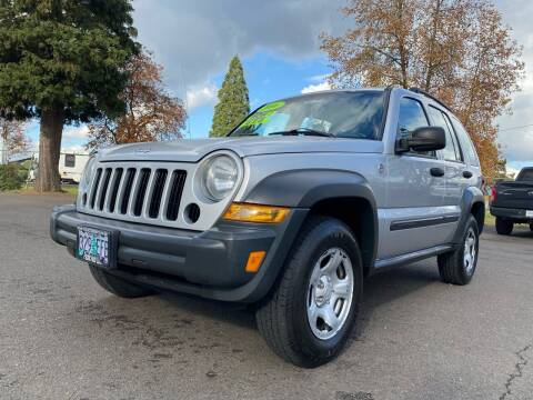 2006 Jeep Liberty for sale at Pacific Auto LLC in Woodburn OR