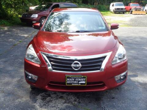 2013 Nissan Altima for sale at MAIN STREET MOTORS in Norristown PA