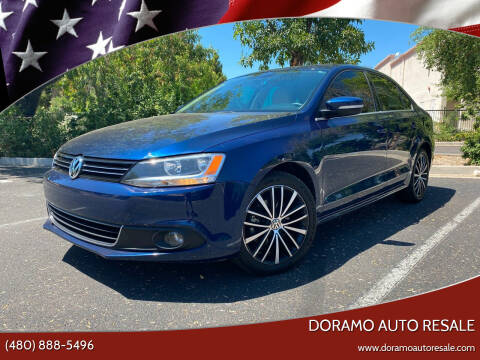 2012 Volkswagen Jetta for sale at DORAMO AUTO RESALE in Glendale AZ