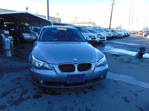 2006 BMW 5 Series for sale at Avalanche Auto Sales in Denver CO