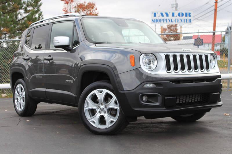 2017 Jeep Renegade for sale at Dan Paroby Auto Sales in Scranton PA
