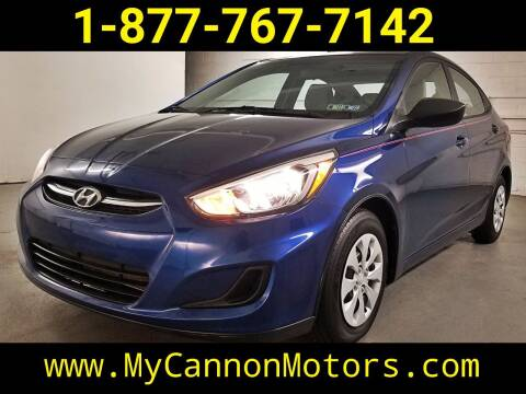 2015 Hyundai Accent for sale at Cannon Motors in Silverdale PA